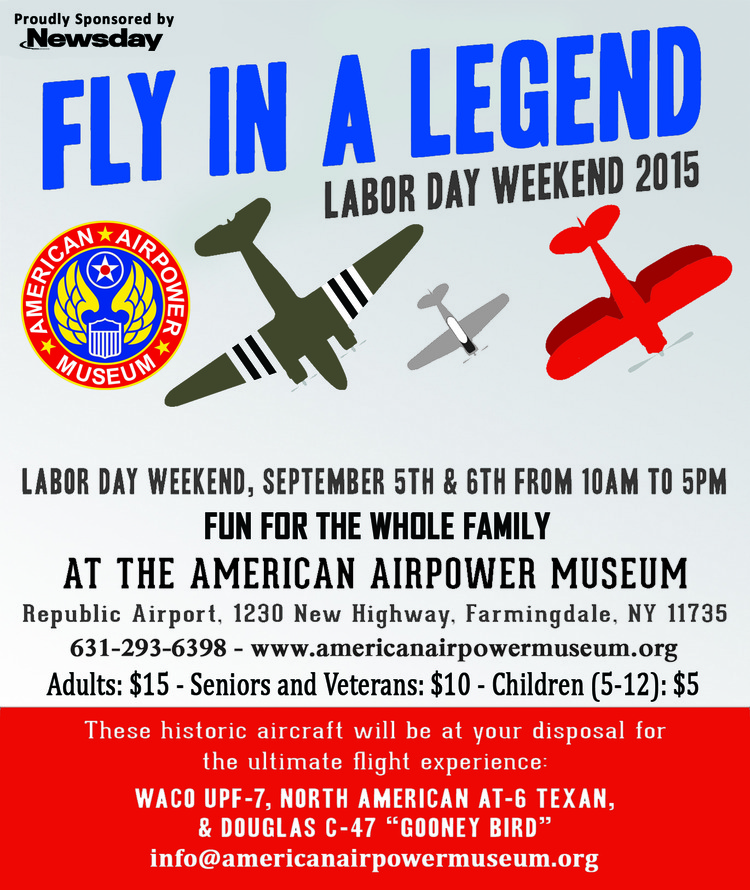 Labor Day Weekend 2015 email blast.